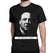 Tony soprano os sopranos tshirts homem crime drama série tv bada bing vintage algodão t camisas de fitness impresso