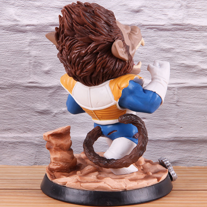 Image 5 - Vegeta Dragon Ball Z PVC Collectible Action Figure Dragonball Model Toy Great Ape Anime GK Statue 18cmAction & Toy Figures   -