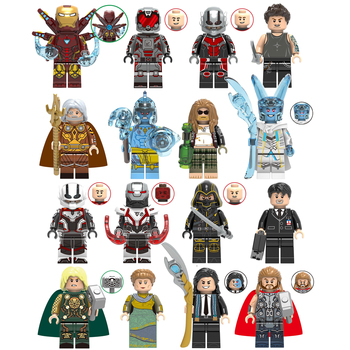 Marvel Avengers Mini Action Figure Ant-Man Iron Man War Machine Hawkeye Anime Figure Collectible Model Toy Minifigure Kid Gift single marvel avengers infinity war thor ant man and the wasp yellowjacket scarlet witch figure building blocks toy for children