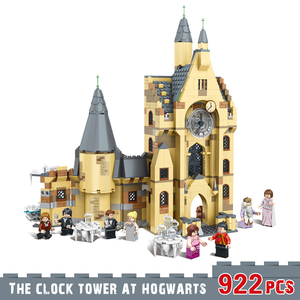 Girls boys Building Blocks Toys Harri Movie Castle The clock tower Assemble Model Educational for Kids Compatible With Lepining