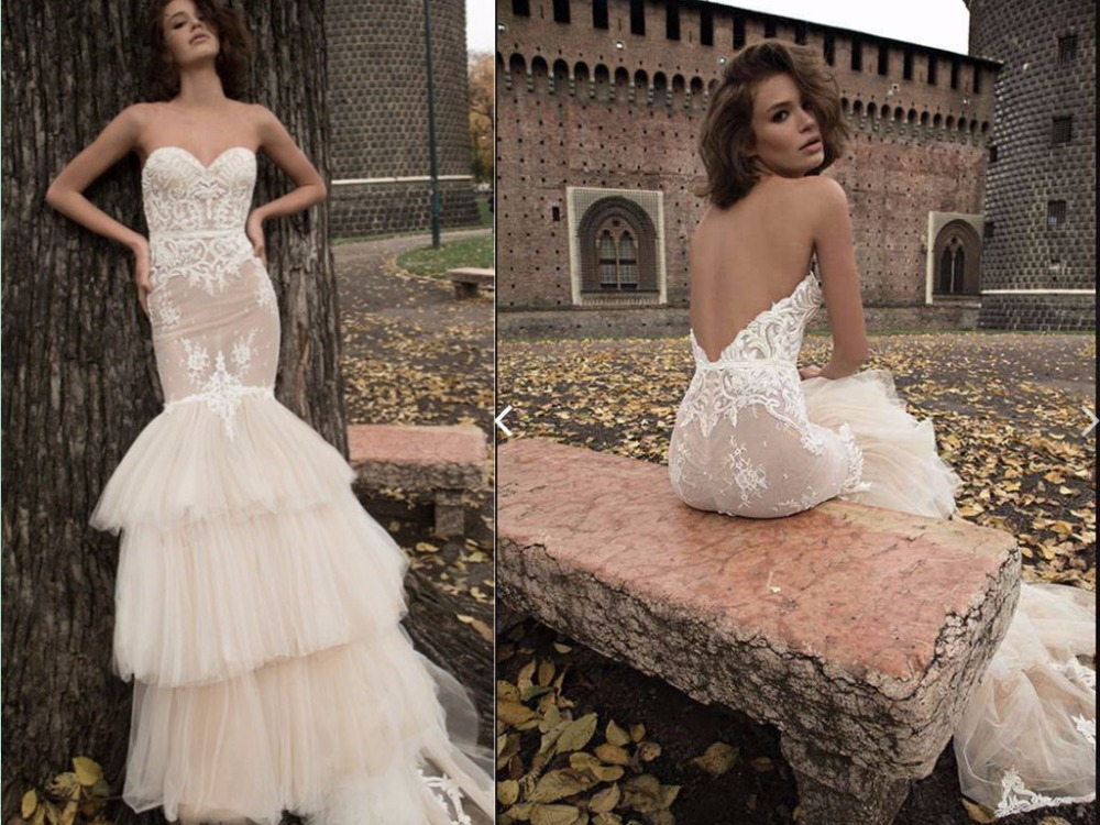 Luxury Sexy Service Mermaid Sweetheart Backless Court Train Lace Bridal Gown 2018 Vestido De Noiva Mother Of The Bride Dresses