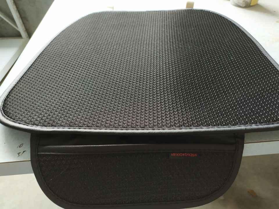 HRYKXDMQYKZGW カーシートクッション 3D 換気とクールな車の自動車シートクッションシートヘッドレストパッド椅子クッションマット