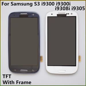 4.8'' S3 TFT LCD Display LCD Touch Screen Digitizer Assembly With Frame Charging For Samsung Galaxy S3 i9300 i9300i i9308i i9305