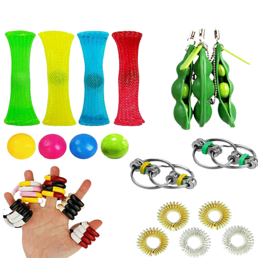 20pcs/22pcs Pack Fidget Sensory Toy Set Stress Relief Autism Anxiety Toy Relief Toy img4