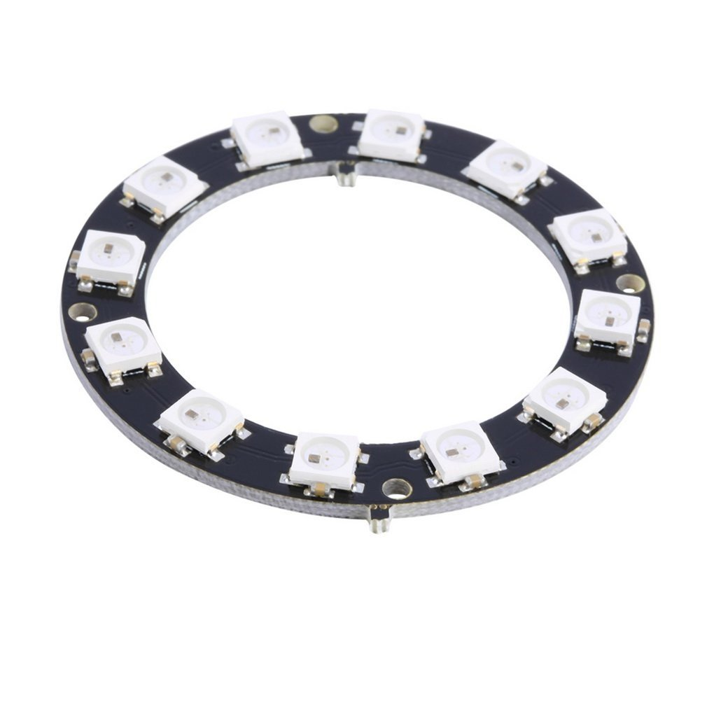 ! 5050 12-Bit RGB LED Ring WS2812 Round Decoration Bulb Perfect For Arduino Promotion
