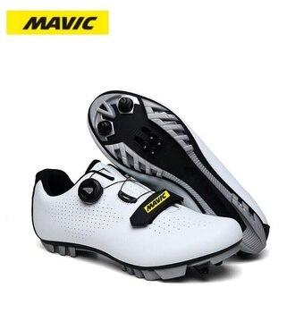 Mavic mtb ciclismo sapatos homem esporte ao ar livre sapatos de bicicleta auto-bloqueio profissional de corrida de estrada sapatos 1