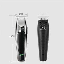 Electric Precision Beard Trimmer Shaver T Blade Razor Styling Head Haircut Machine Mustache Clipper Man Face Hair Shave Cutter portable travel mini shaver beard trimmer with stainless steel blade rotary single blade razor men s mustache cutter dry use