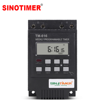 Heavy Load 30A Time Relay 7 Days Programmable Digital Timer Switch Relay Control Time 220V 230V AC Din Rail Mount no lock digital programmable timer time relay microcomputer electronic digital timer switch relay control din rail mount