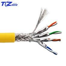 Cat8 40Gbps 2000MHz Cat8 SFTP Dual Mạng Lưới Che Cáp Hỗ Trợ POE 100W Ethernet 5M 10M 30M 50M 100M