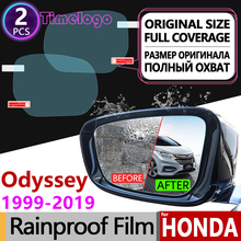 For Honda Odyssey 1999-2019 JDM Model Full Cover Anti Fog Film Rearview Mirror Accessories RA6 RA9 RB1 RB2 RB3 RB4 RC1 RC2 2015