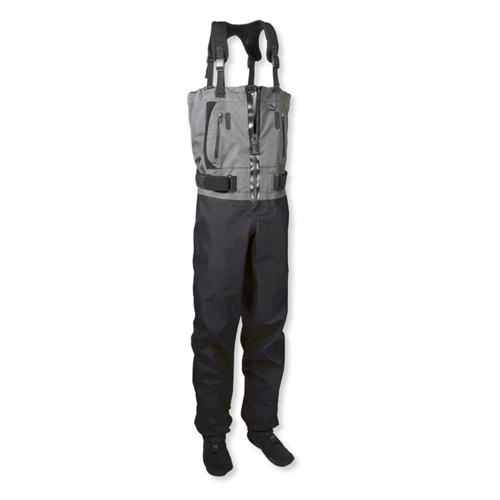 Men's Fishing Chest Waders 3-Ply Durable Breathable And Waterproof With Neoprene Stockingfoot Insulated Fishing Hunting Apparel