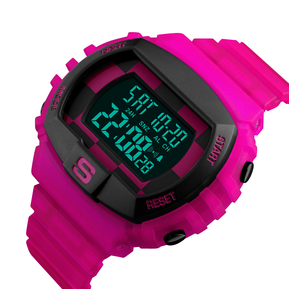 <font><b>Skmei</b></font>/<font><b>Skmei</b></font> <font><b>1304</b></font> Students Sports Waterproof Electronic Watch WOMEN'S Watch Couples Large Dial WOMEN'S Watch image
