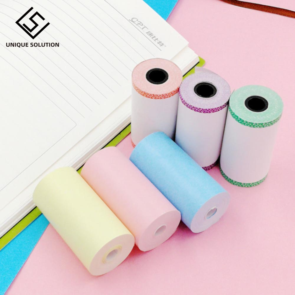 Color Thermal Paper Roll 57*30mm Photo Paper Clear Printing For PeriPage A6 A8 PAPERANG P1/P2 Mini Pocket Photo Printer