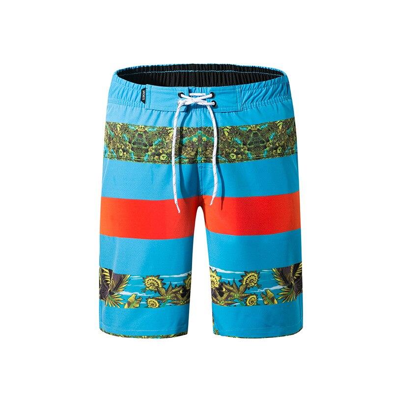 Days Pullen New Style Men Loose-Fit Beach Shorts Quick-Dry Boardshort Digital Printing Men's Shorts 1825