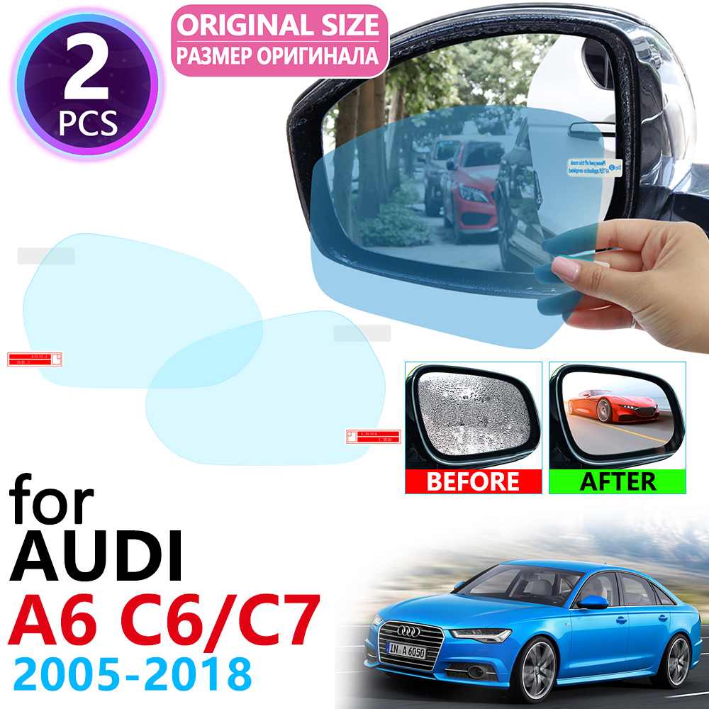 Audi A6 4F C6 Estate Avant Rear Bumper Protector Guard Trim Cover Chrome Sill