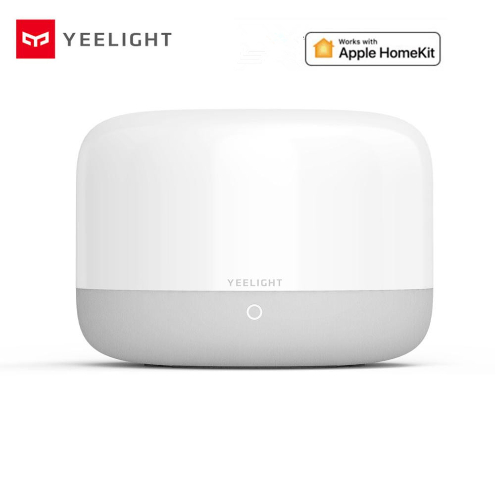 2020 New Yeelight YLCT01YL Colorful LED Smart Mi Bedside Lamp Intelligent Dimmable Night Light APP Control Work With HomeKit