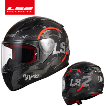 Original LS2 FF353 Full Face motorcycle helmet high quality ABS moto casque LS2 Rapid street racing helmets ECE Approved