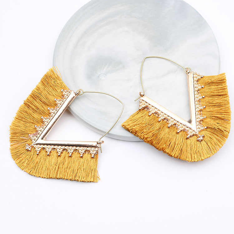 Tassel Earrings for Women Drop Earrings Jewelry Earrings Fashion Jewelry Wedding Party Long Earrings Boucle D'oreille Femme 2019