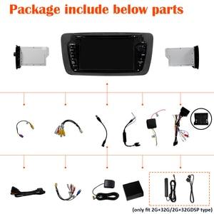 Image 3 - Rádio do carro de px6 2 din android 10 multimídia dvd player autoradio áudio para seat ibiza 6j 2009 2013 2din navegação estéreo gps dsp