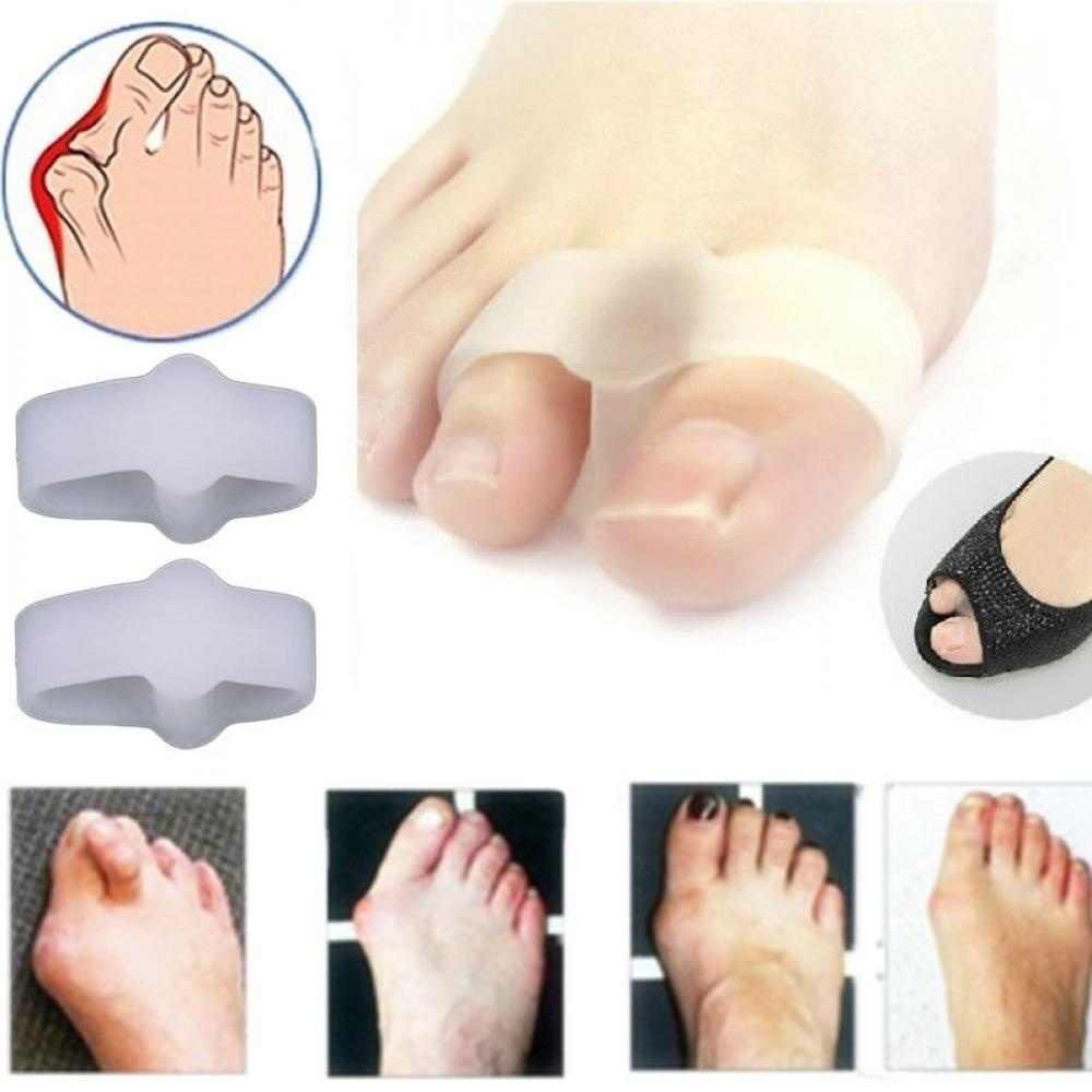 Corrector Pain Relief Brancards Bunion Teenseparators Gel Stijltangen 2 Gaten
