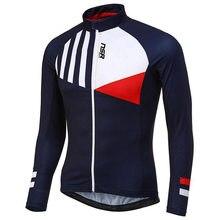 Camisa de ciclismo coréia nsr 2021 manga longa jerseys primavera outono roupas finas bicicleta ao ar livre mountain road bicicleta respirável