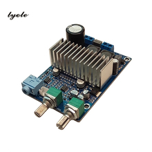 лучшая цена Tpa3116 subwoofer power amplifier board 100w TPA3116D2 chip 12-24V  digital subwoofer power amplifier board
