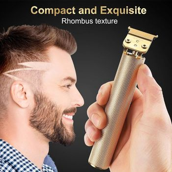classic body grooming hair clippers shaving set haircut kit precision blade great for barbers and stylist guide combs attachment Professional Hair Clippers Men T-Blade Beard Trimmer Barber Grooming Kit Rechargeable Cordless Haircut Machine
