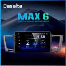 """Dasaita 10,"""" ips 1 Din Android 9,0 мультимедийный автомобильный радиоприемник для Toyota RAV4 USB 4 Гб ram MAX6 gps Bluetooth"""