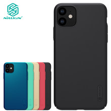 Nillkin Matte Case for iPhone 11 Super Frosted Shield Mobile Phone Shell Ultra Thin PC Hard Cover(China)