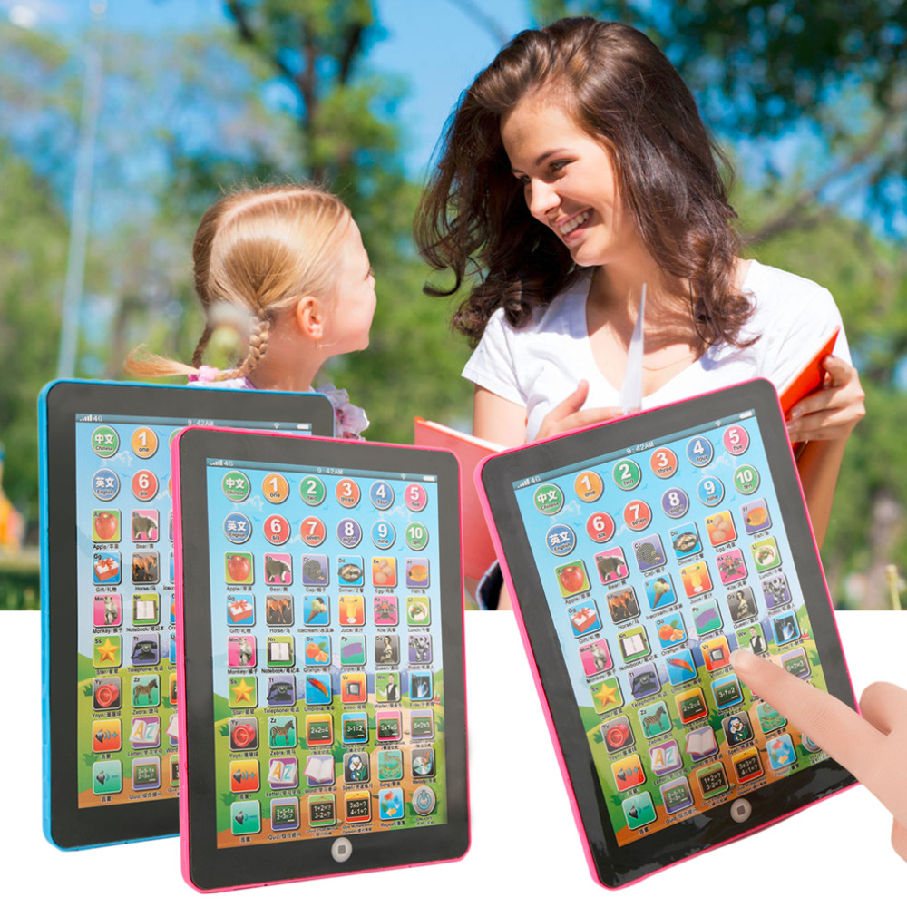English Computer Learning Education Tablet Touch Child Baby Toy Game Gift Kids