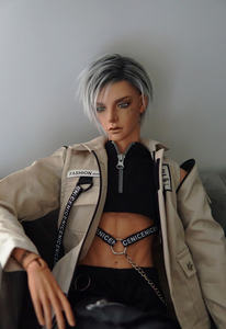 Image 3 - Ball jointed doll Ovid handsome man free eyes  size 1/3 fashion bjd birthday present HeHeBJD