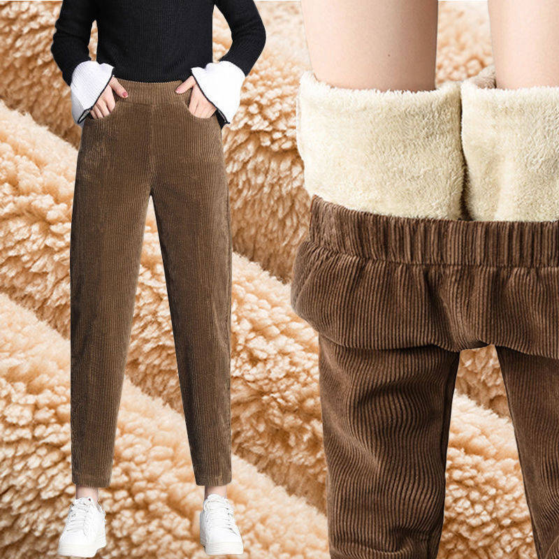 2020 вельветовые шаровары женские весна осень зима модные утолщенные повседневные брюки корейские свободные брюки с высокой талией размера плюс|Футболки|   | АлиЭкспресс
