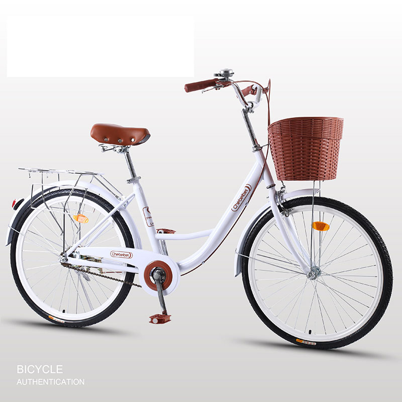 Road Bike 26 inch Utility Bicycle Travel Commuter Retro Light Lady Student Adult Men And Women New Hot Sale image
