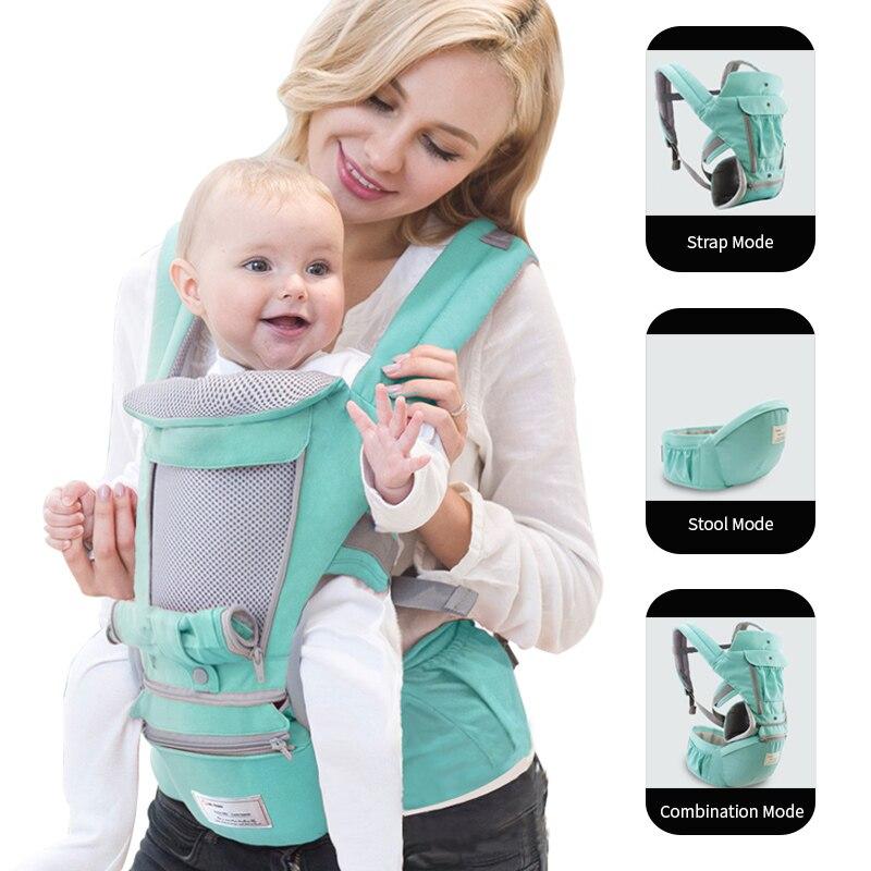 Эргономичная переноска для детей, слинг-кенгуру для детей 0-36 месяцев