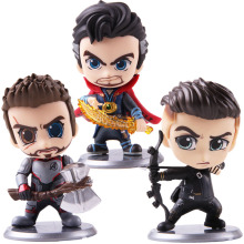 Hot Toys Avengers Endgame Thor Doctor Strange Hawkeye PVC Action Figure Collectible Model Toy Bobble Head Doll new arrival 2017 funko the history of big boy wacky wobbler bobble head pvc action figure desk collection toy doll 7 18cm