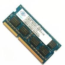 Nanya DDR3 CARNEIROS 4GB PC3-10600S 2RX8 1333MHz 204pin memória portátil