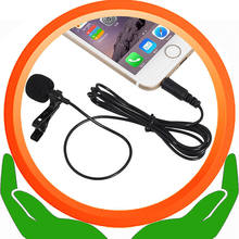 Tie Clip Mic Revers Lavalier Condensator Microfoon voor Smartphone & andere apparaten Voor Samsung LG iPod touch OMTP(China)