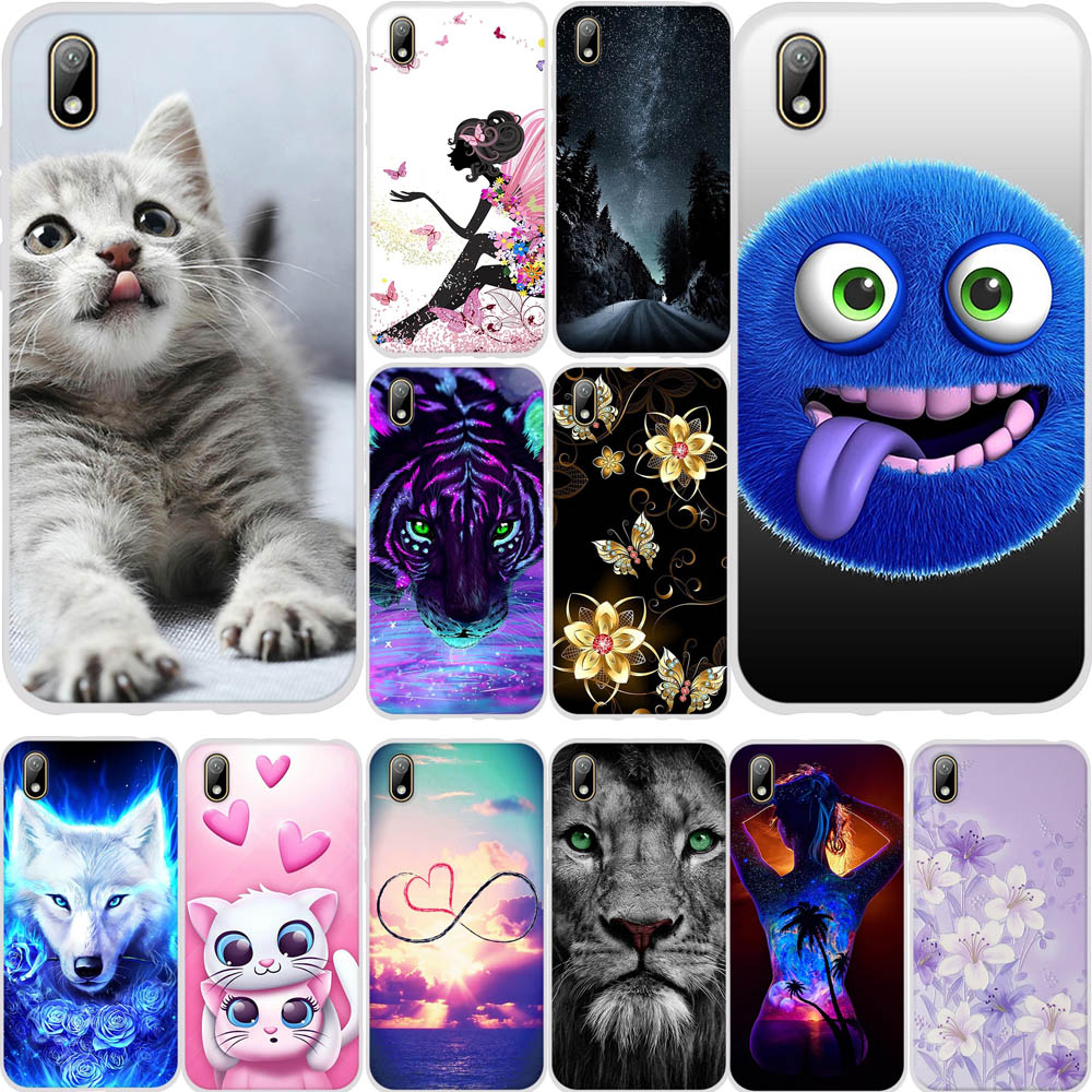 For Huawei Y5 2019 Case Silicone Soft Cover Honor 8s Cover 5.71