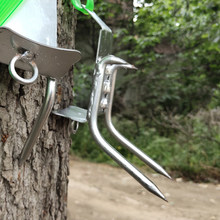 High Strength Pick Safe Clamber Climbing Tree Shoes Pocket Multi Tools Outdoor Hiking Tree Climbing Tools(China)