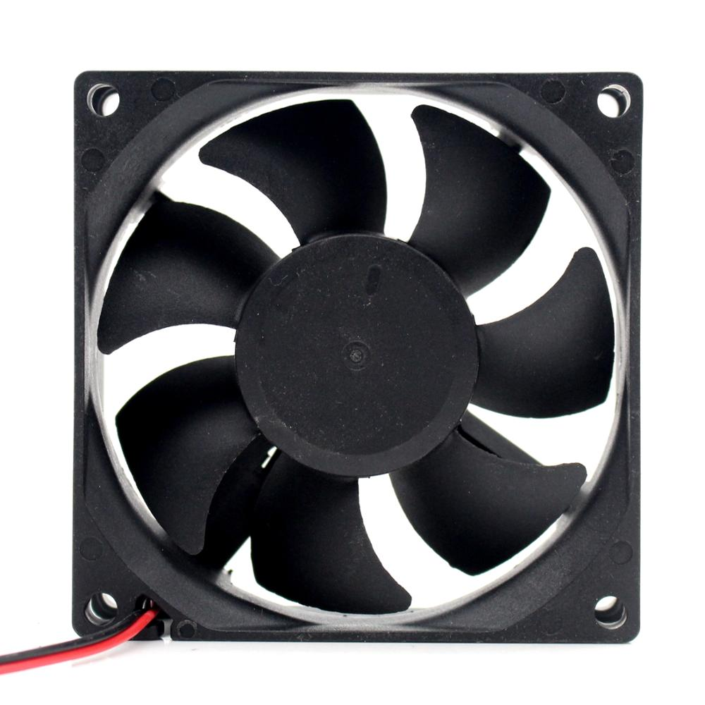 New DC 18V Fan 80 * 80 * 25mm 18V 8025 2-wire 8cm Barbecue Stove Fan DC Cooling Fan