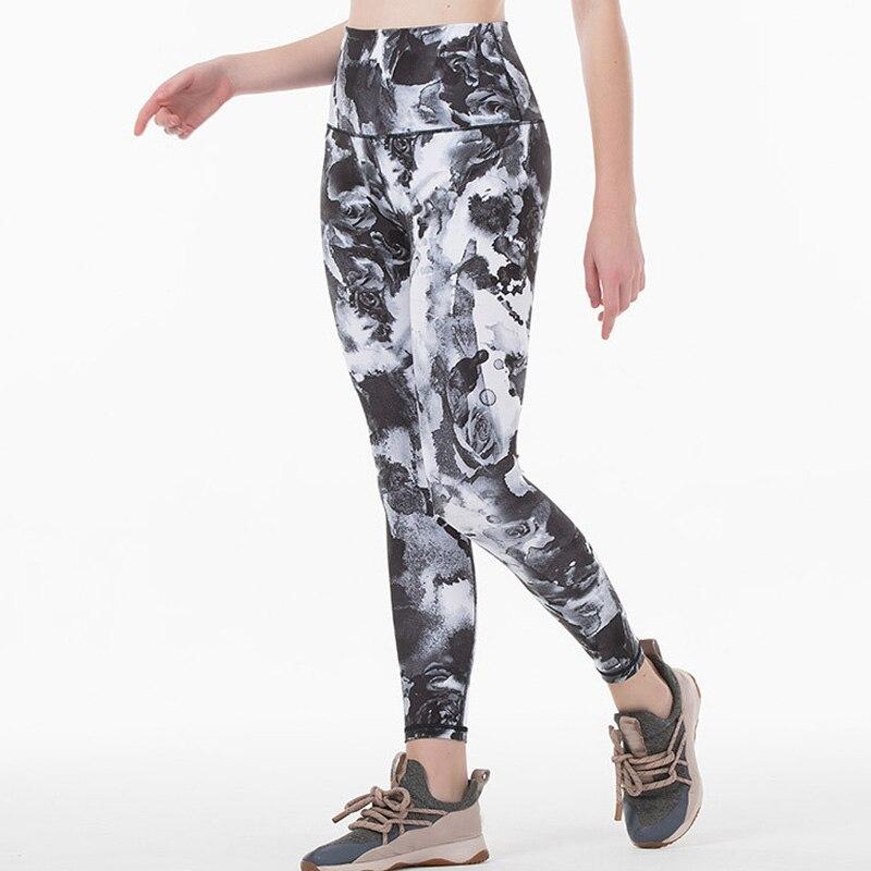 2020 Women Tight Sports Capri Sexy Yoga Tummy Control Leggings 4 Way Stretch Fabric Non See Through Quality Free Shipping