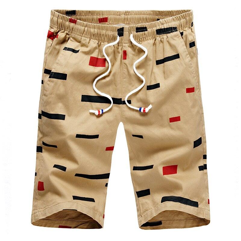 Summer Shorts Men's Casual Pants Loose And Plus-sized Youth Sports Shorts Korean-style Fashion Man Beach Shorts