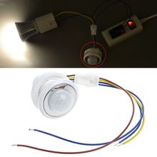 Switch Motion-Sensor Pir-Detector Infrared LED Time-Delay Adjustable Drop-Ship 40mm