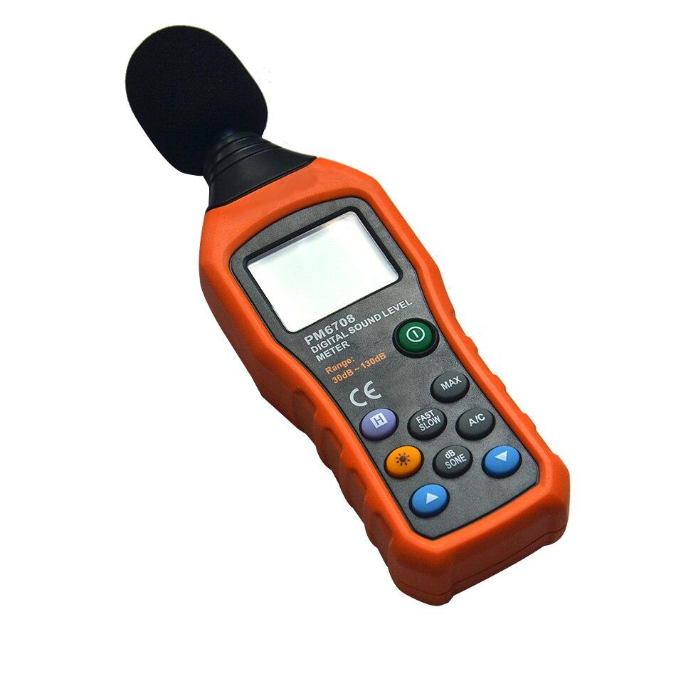 Offre spéciale professionnel numérique sonomètre haute précision moniteur de bruit Portable Portable mesure 30-130 dB Instrument - 2