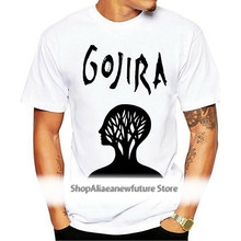 GOJIRA t-shirt Sizes S M L XL XXL XXXL 4XL 5XL White L'enfant Sauvage t-shirt Decapitated Funny tshirt t shirt Cool t shirt Men
