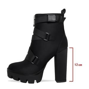 Image 3 - MORAZORA 2020 New ARRIVALข้อเท้ารองเท้าผู้หญิงฤดูใบไม้ร่วงฤดูหนาวรองเท้าส้นสูงรองเท้าซิปหัวเข็มขัดเซ็กซี่PARTY PROMรองเท้าหญิง