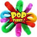 Новинка 2021, мини-игрушка-антистресс в виде поп-трубки, игрушка цветная сверхмощная для строительства, обучающие игрушки для снятия стресса ...