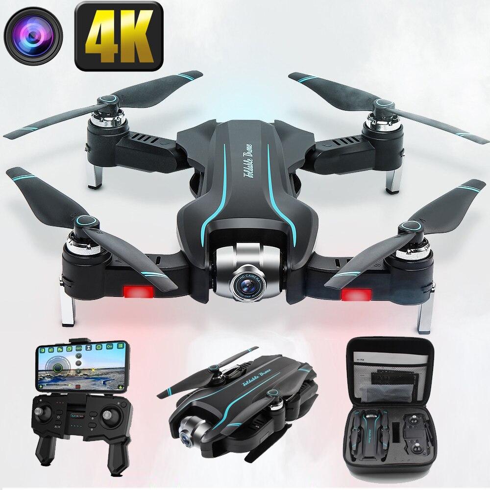 Drone 4K caméra HD 1080P WIFI drone FPV hauteur entretien quadrirotor à point fixe surround RC hélicoptère drone caméra drone S17