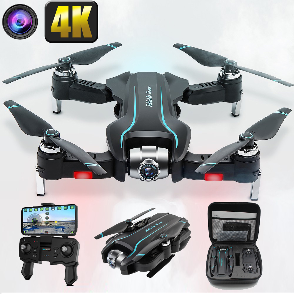 drone 4K camera HD 1080P WIFI drone FPV height maintenance quadcopter fixed-point surround RC helicopter drone camera drone S17 title=