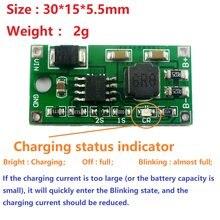 2A Multi-Cell Synchronous Buck Li-Ion Charger DC 5-23V to 4.2V 8.4V 12.6V for 3.7V 7.4V 11.1V 18650 Lithium Battery